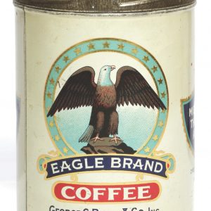 Eagle Coffee Can