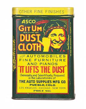 GitUm Dust Cloth Tin