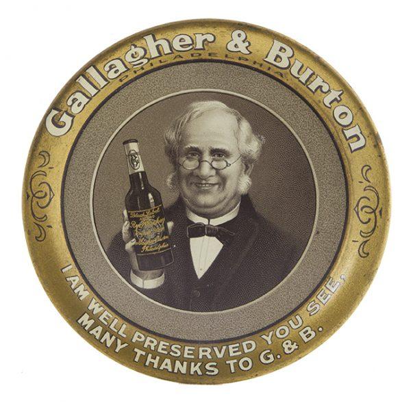 Gallagher & Burton Whiskey Tip Tray