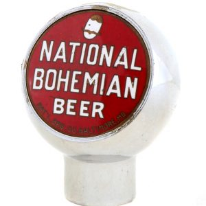 National Bohemian Beer Tap Knob
