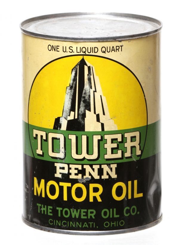 Tower Penn Motor Oil Can