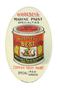 Woolsey's Marine Paint Pocket Mirror