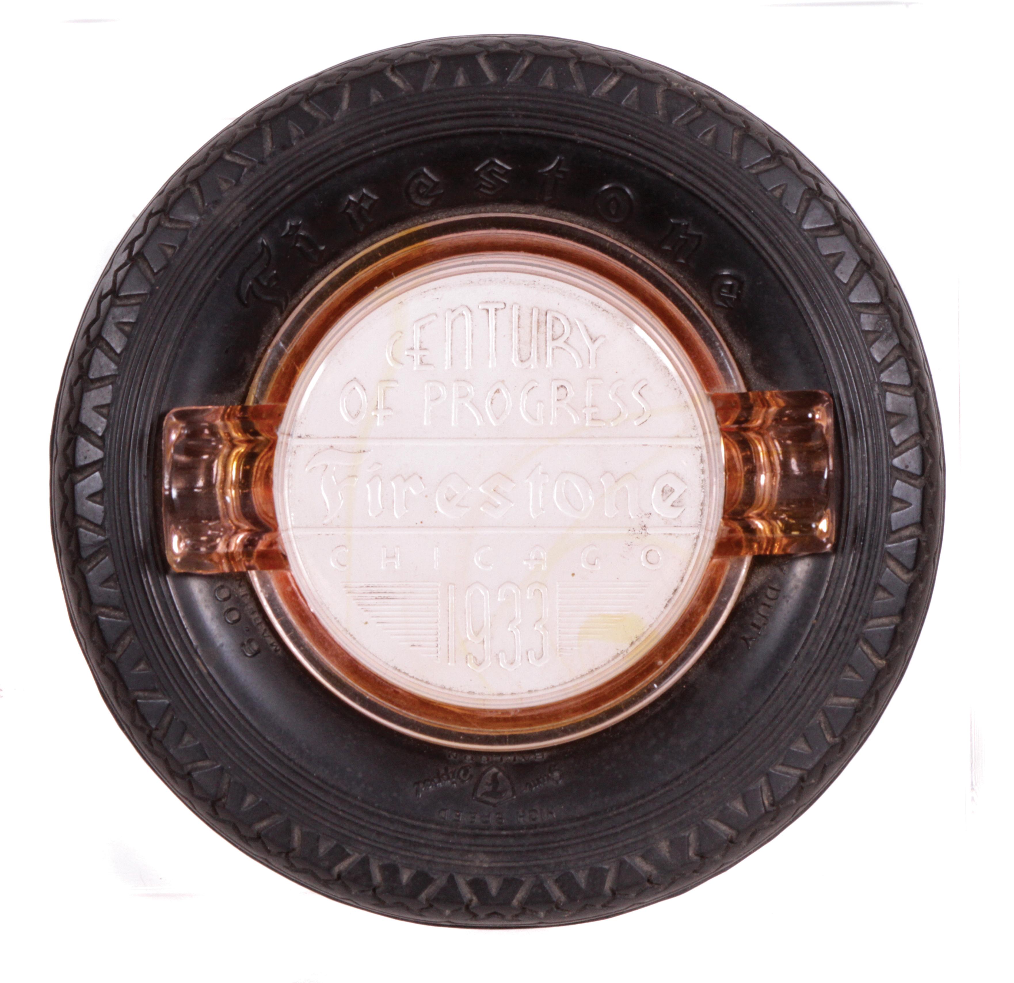 Firestone Tires 1933 Fair Ashtray