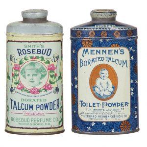 Vintage Talcum Tins
