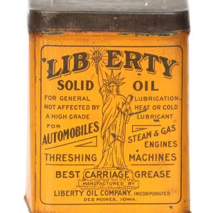 Liberty Solid Oil Can