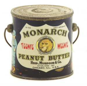 Monarch Teenie Weenie Peanut Butter Pail
