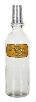 Orange Tang Syrup Bottle