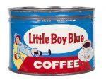 Little Boy Blue Coffee Can