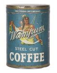 Wampum Coffee Can