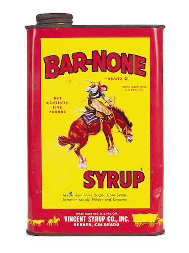 Bar-None Syrup Can