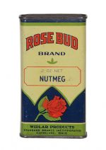 Rose Bud Spice Tin