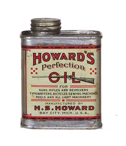 Howard's Perfection Gun Oil Tin