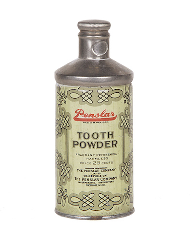 Penslar Tooth Powder Tin