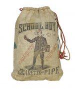 School Boy Tobacco String Bag