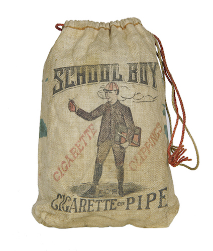 School Boy Tobacco String Bag