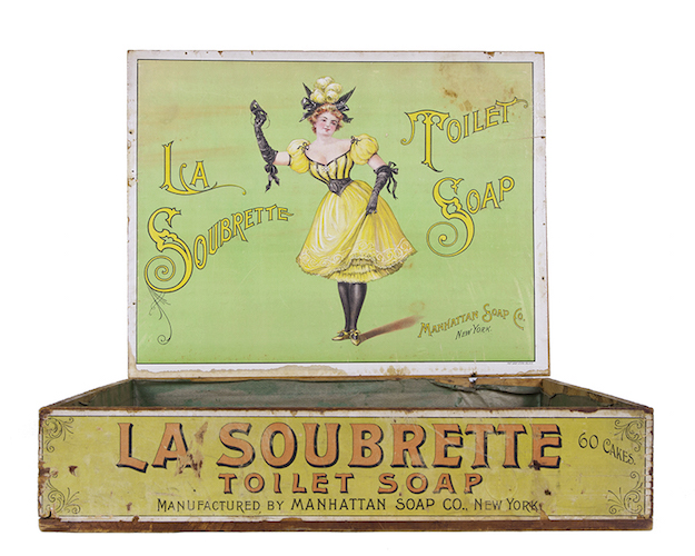 La Soubrette Toilet Soap Box