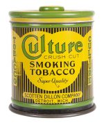 Culture Tobacco Tin Canister