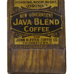 New Government Java Coffee Match Holder