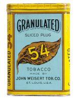 Granulated 54 Tobacco Tin