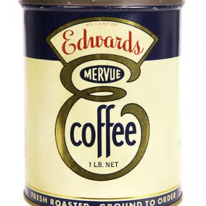 Edwards Mervue Coffee Tin