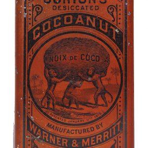 Gorton's Cocoanut Tin