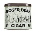 Roger Bean Cigar Can