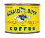 Donald Duck Coffee Sample