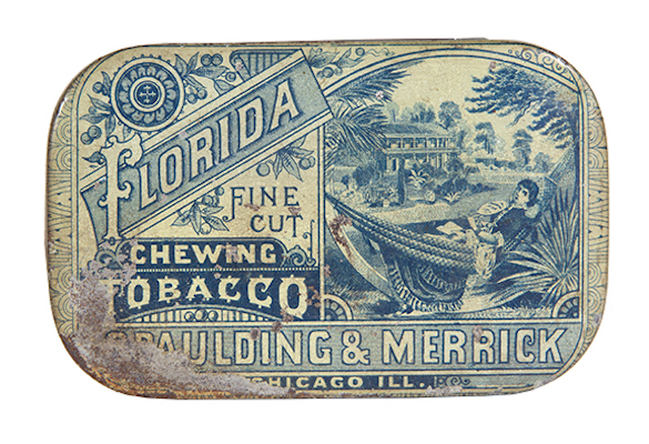 Florida Flat Pocket Tobacco Tin