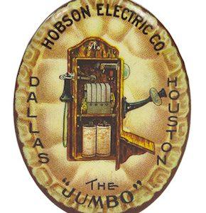Telephone Advertising Pin