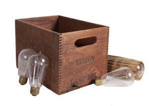 Edison Light Bulbs Box