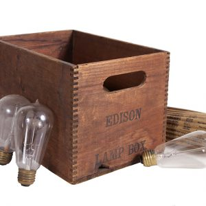 Edison Light Bulbs Box