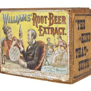 Williams' Root Beer Extract Box