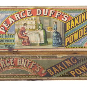 Pearce Duff's Baking Powder Display Box