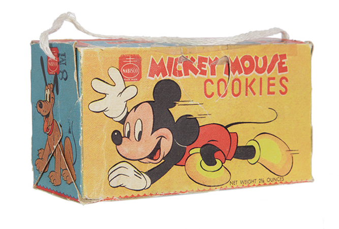 Mickey Mouse Cookies Box