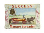 Success Manure Spreader Tip Tray