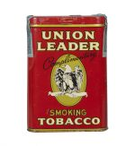 Union Leader Sample Tobacco Tin