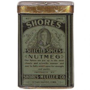 Shores Spice Tin