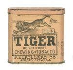 Tiger Tobacco Pocket Tin