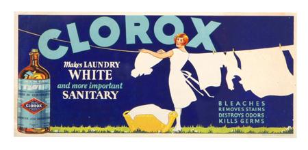 Clorox Sign