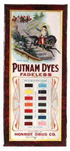 Putnam Dyes Sign