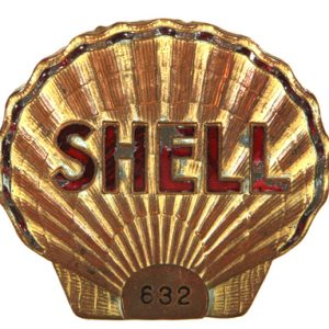 Shell Oil Badge