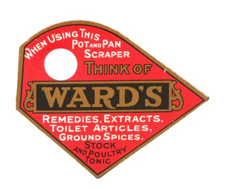 Ward's Remedies Pot Scraper