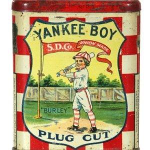 Yankee Boy Plug Cut Tobacco Tin