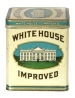 White House Improved Cigar Tin