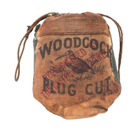 Woodcock Plug Tobacco Pouch