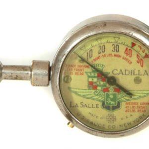 Cadillac La Salle Tire Gauge
