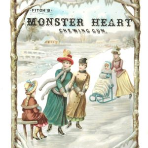 Monster Heart Chewing Gum Sign