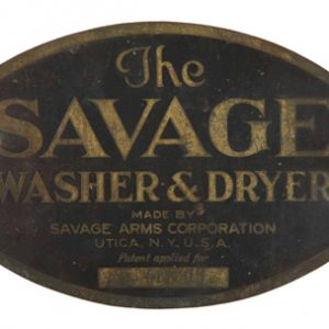 Savage Washer & Dryer Sign