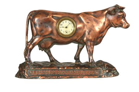 St. Charles Cream Clock