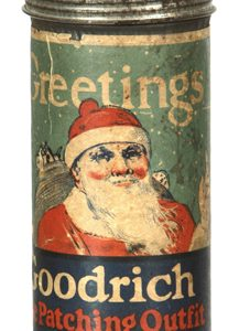 Goodrich Greetings Tire Patch Tin